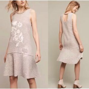 Anthropologie Knitted and Knotted wool dress xs